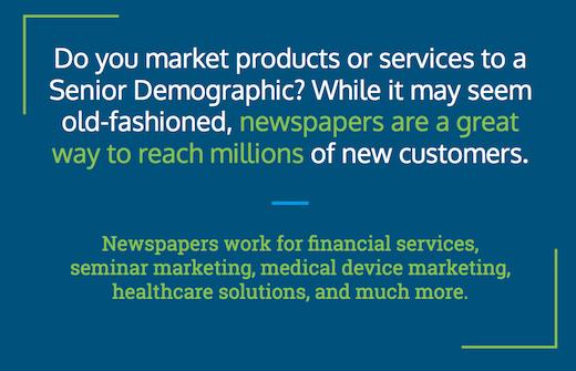 newspaper media for reaching older audiences